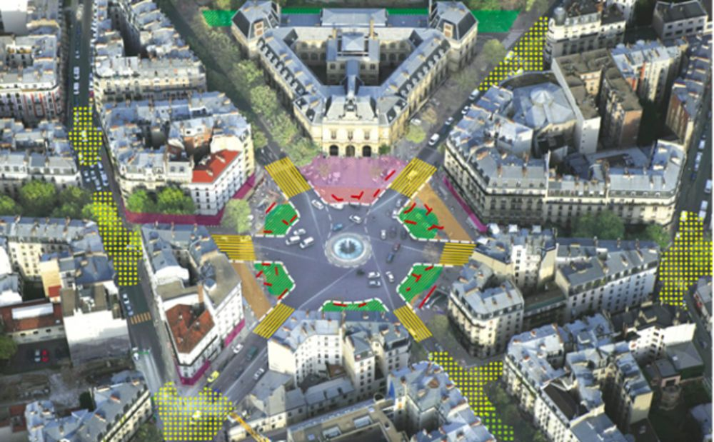 Central Paris Is The Project To Make City's Historic Center Pedestrianized